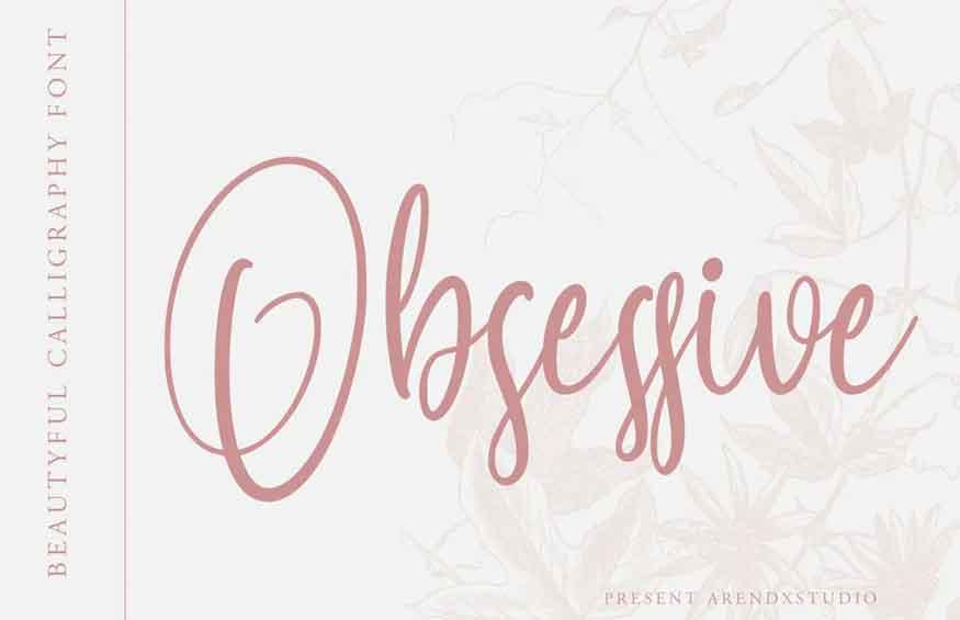 Obsessive Font