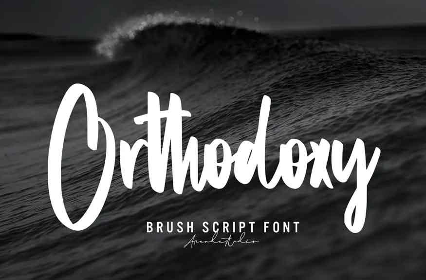 Orthodoxy Font