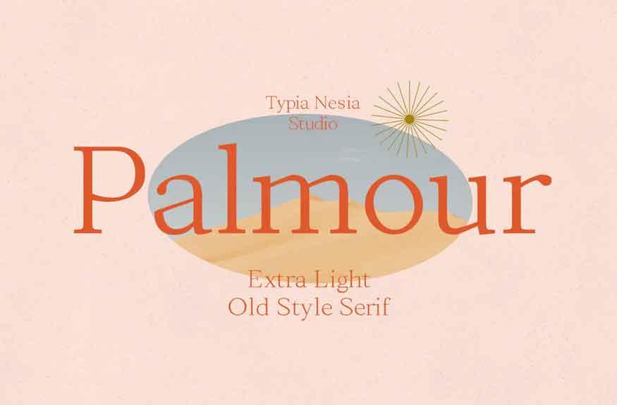 Palmour Font