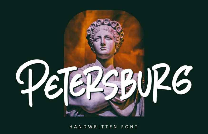 Petersburg Font