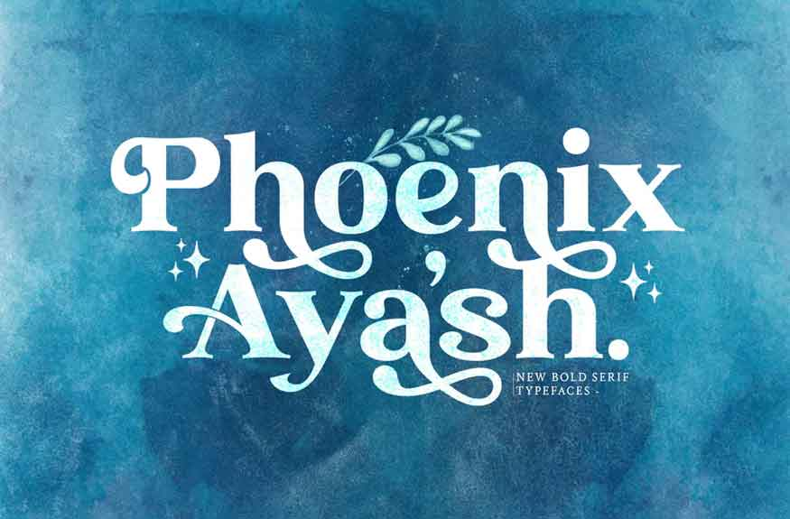 Phoenix Ayash Font