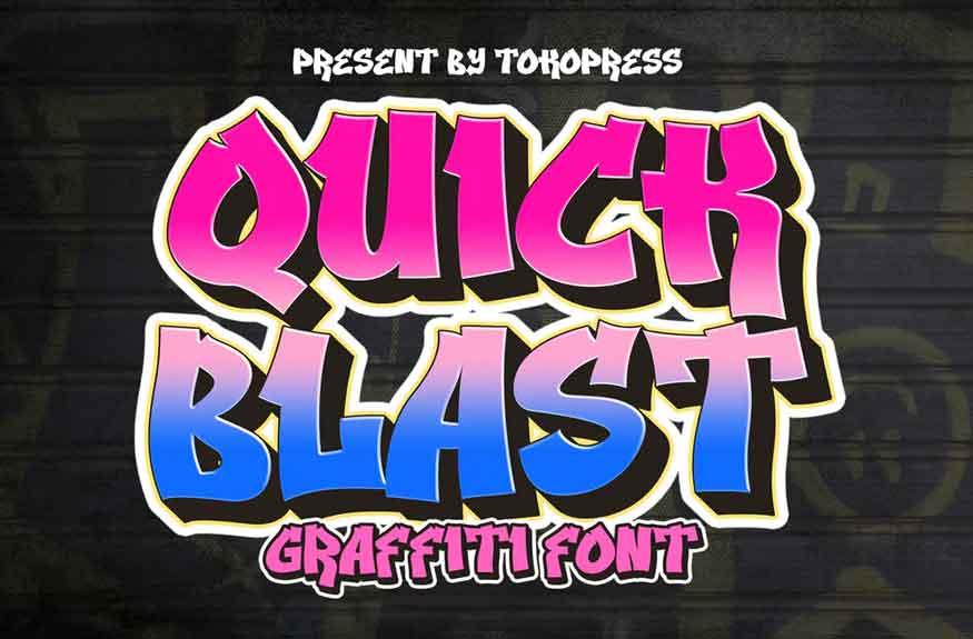 Quick Blast Font