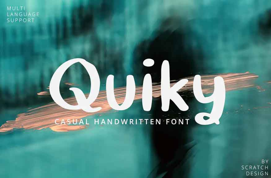 Quiky Font