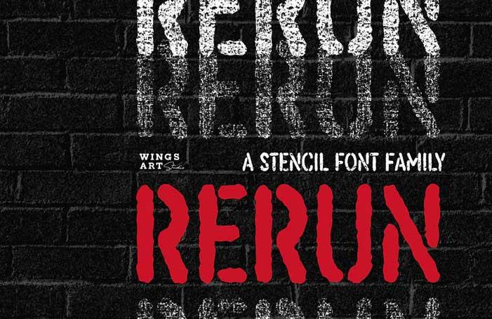 ReRun Font