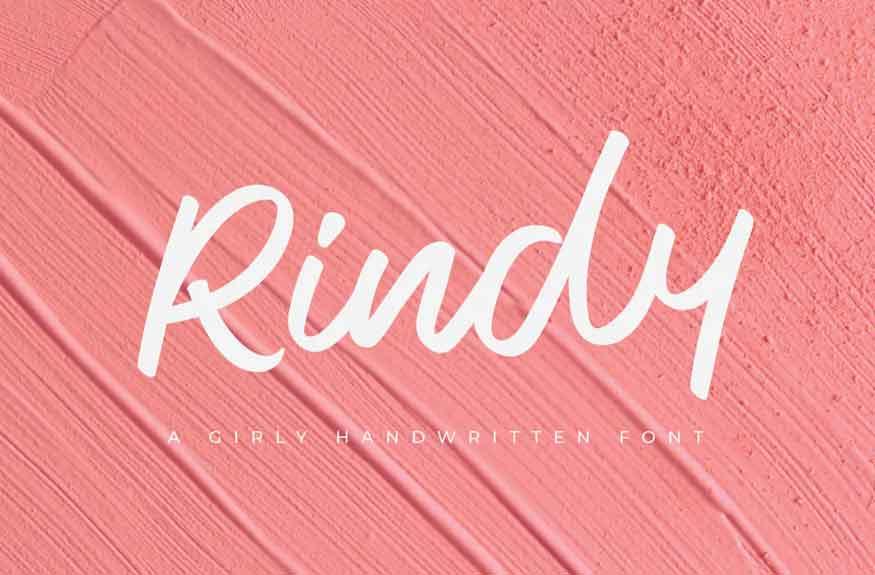 Rindy Font