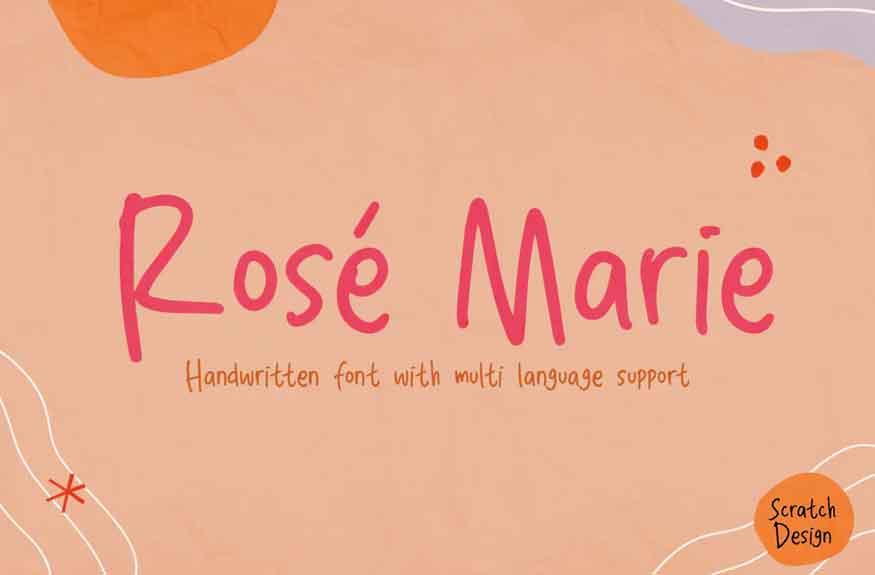 Rose Marie Font