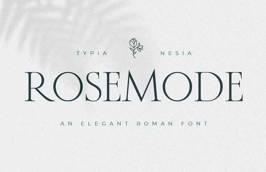 Rosemode Font