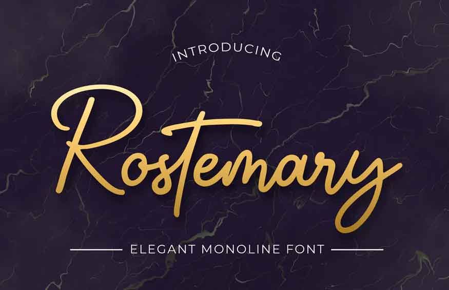 Rostemary Font