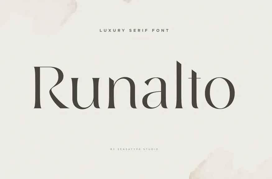 Runalto Font