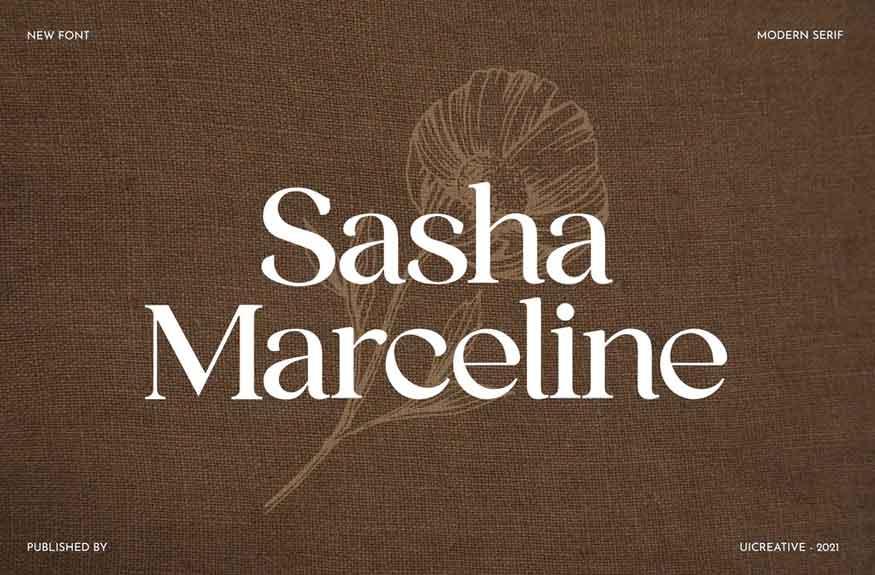 Sasha Marceline Font