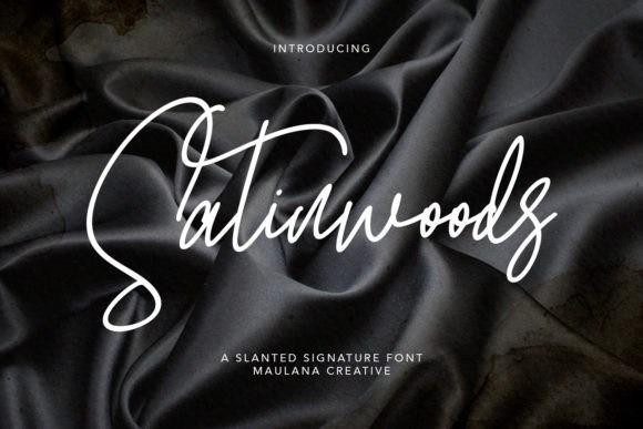 Satinwoods Font