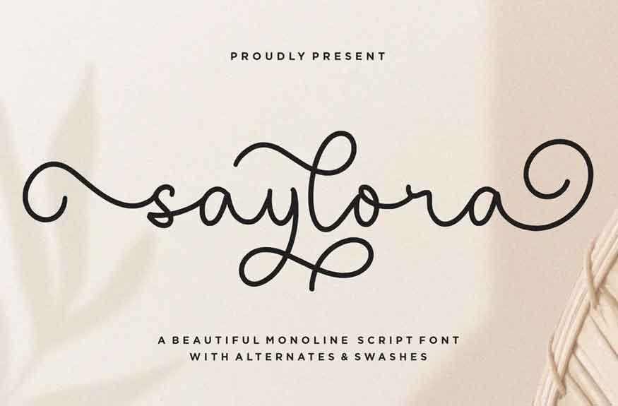 Saylora Font
