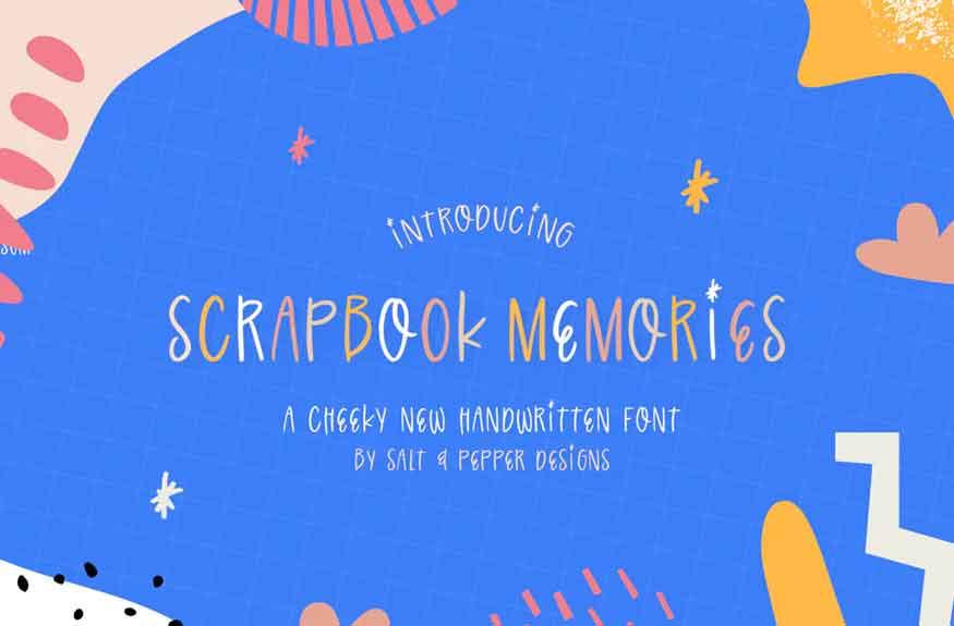 Scrapbook Memories Font
