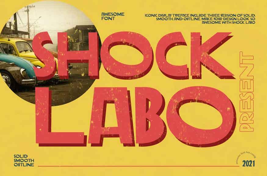 Shock Labo Font