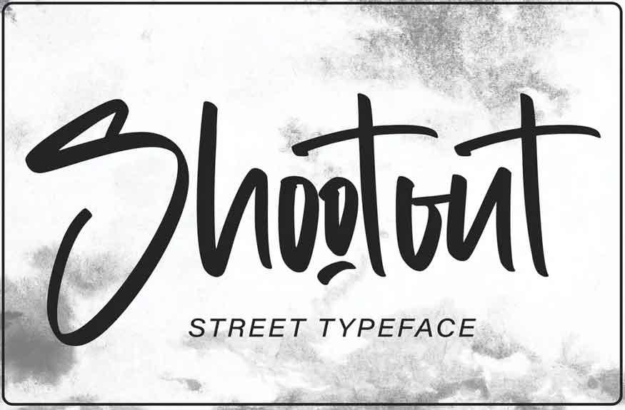 Shootout Font
