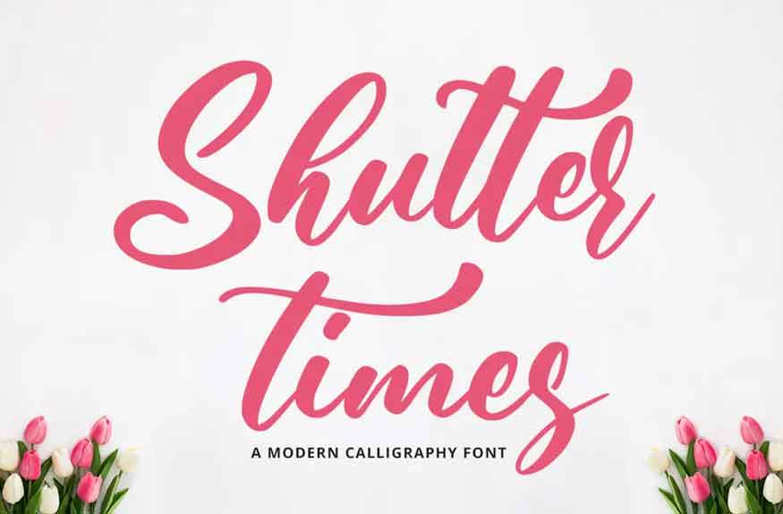 Shutter Times Font