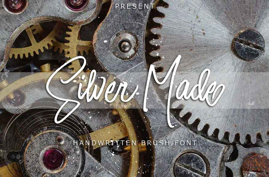 Silver Made Font