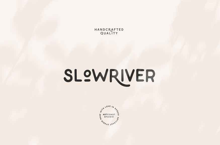 Slow River Font
