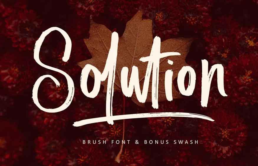 Solution Font