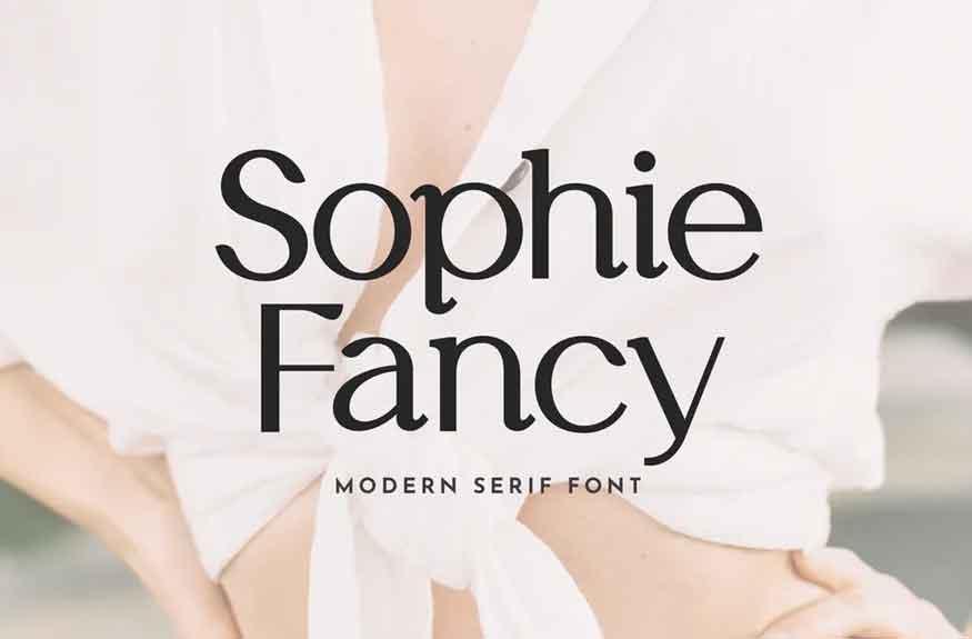 Sophie Fancy Font