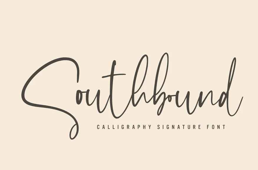 Southbound Font