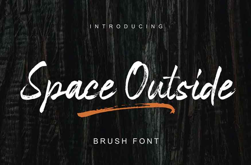 Space Outside Font