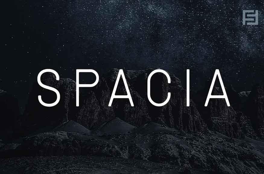 Spacia Font
