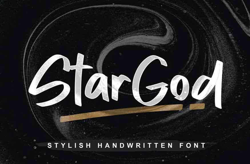 Stargod Font