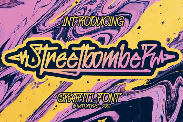 Streetbomber Font