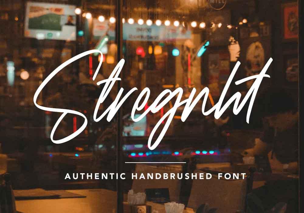 Strength Font