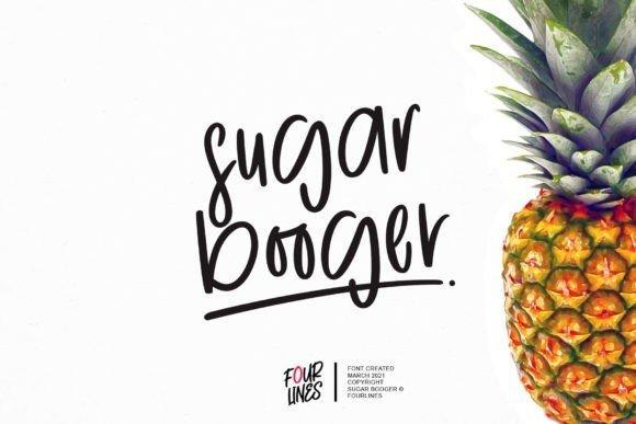 Sugar Booger Font