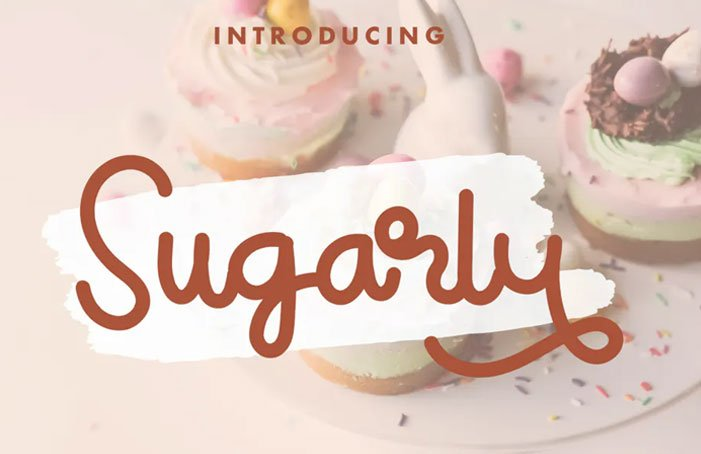 Sugarly Font