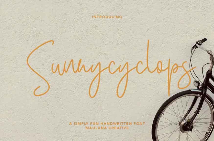 Sunnycyclops Font