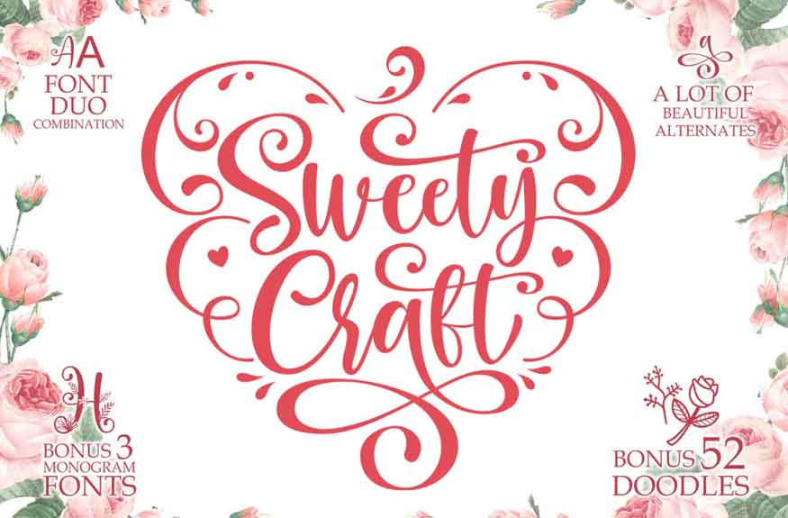 Sweety Craft Font