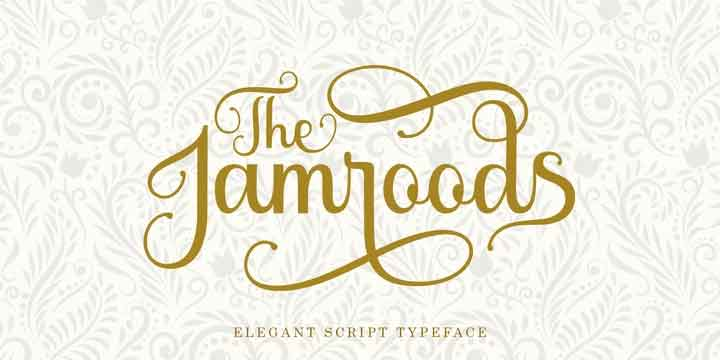 The Jamroods Font