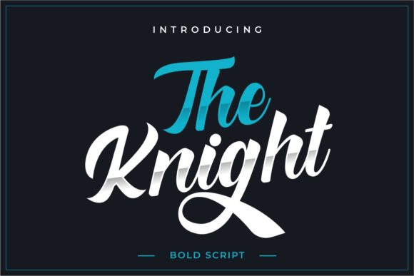 The Knight Font