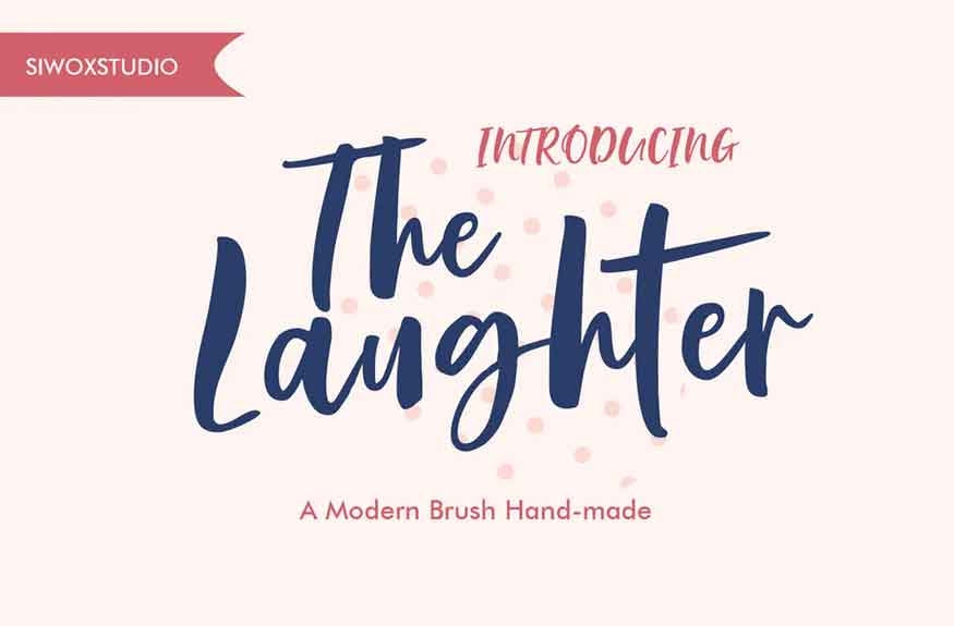 The Laughter Font
