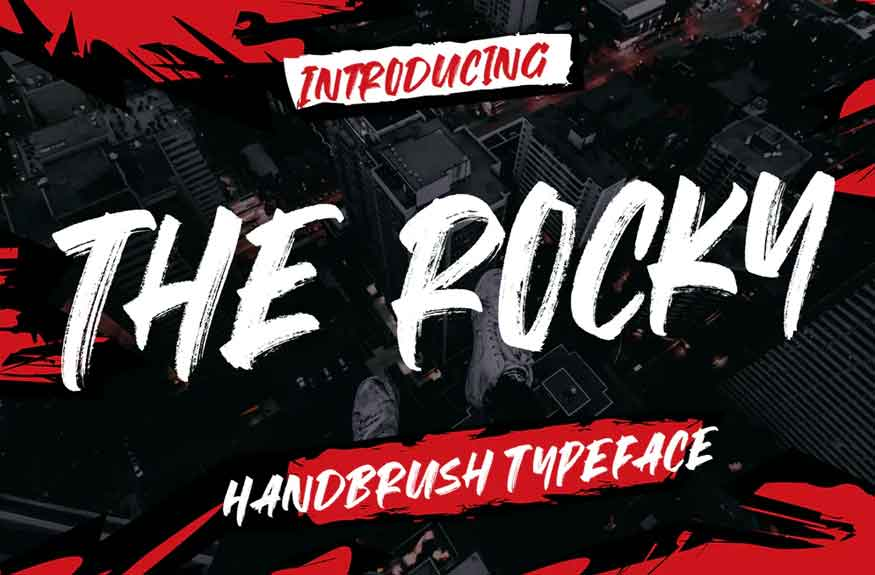 The Rocky Font