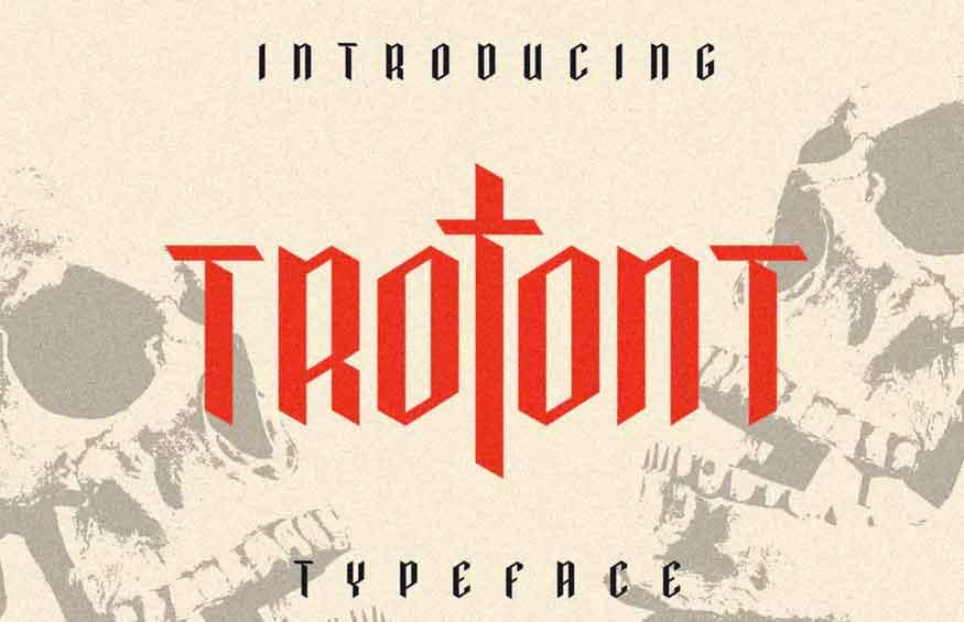 Trotont Font