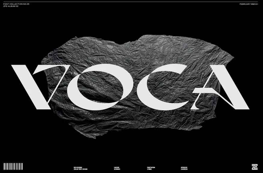 Voca Font