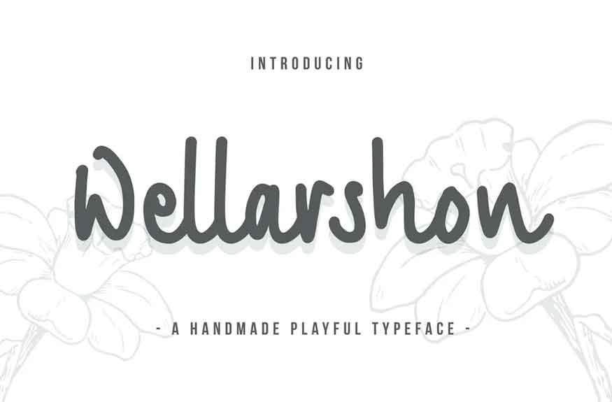 Wellarshon Font