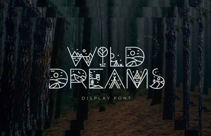Wild Dreams Display Font