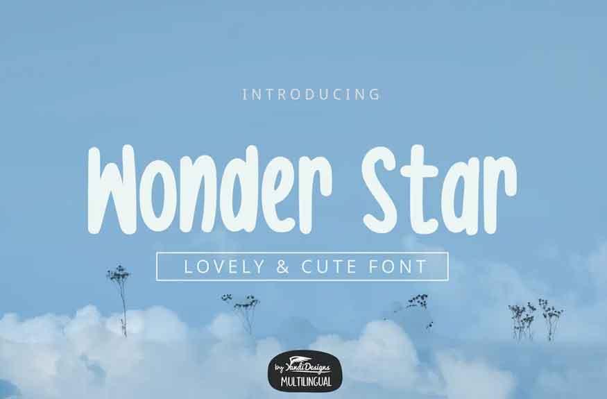 Wonder Star Font