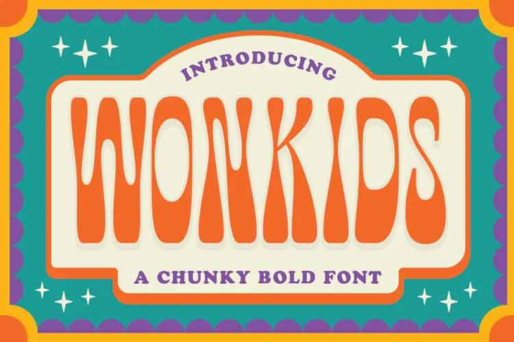 Wonkids Font