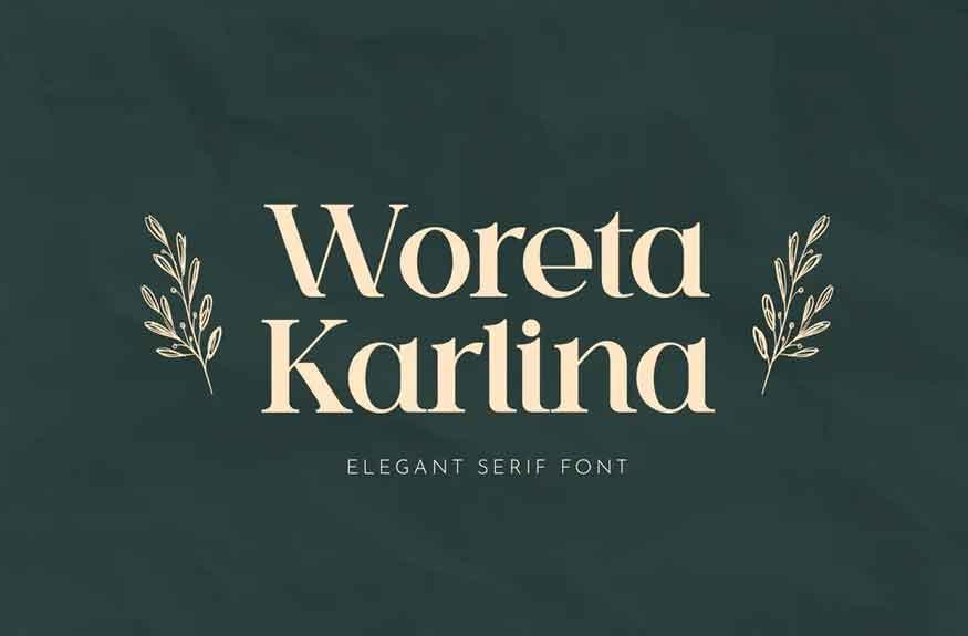 Woreta Karlina Font