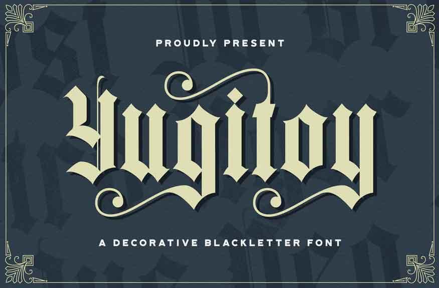 Yugitoy Font