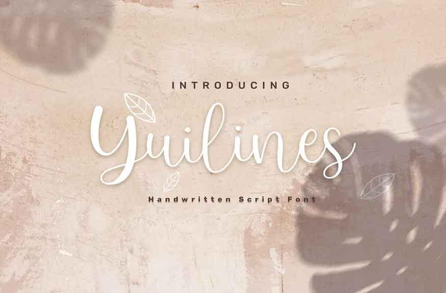 Yuilines Font