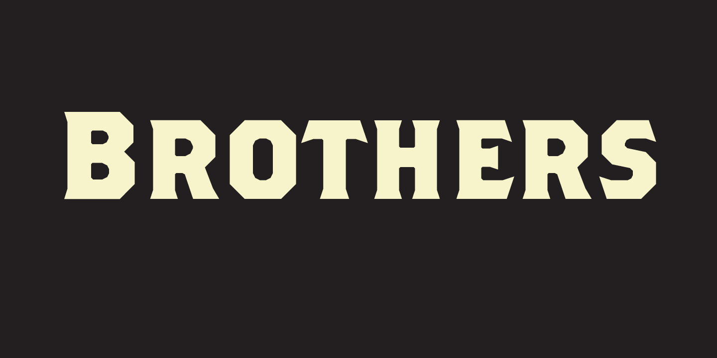 Brothers Font