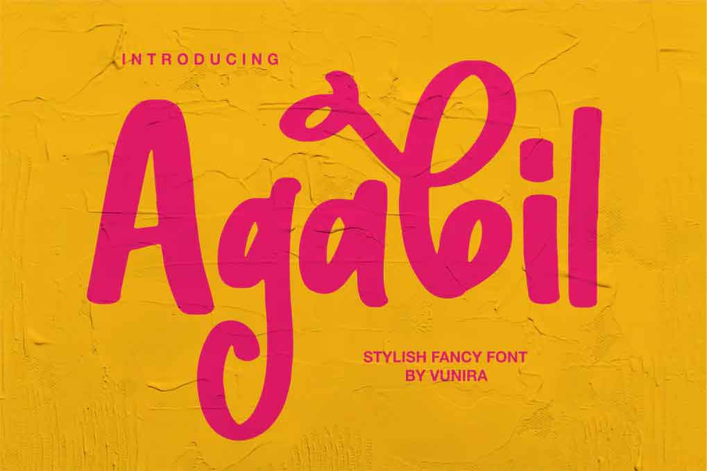 Agabil Font