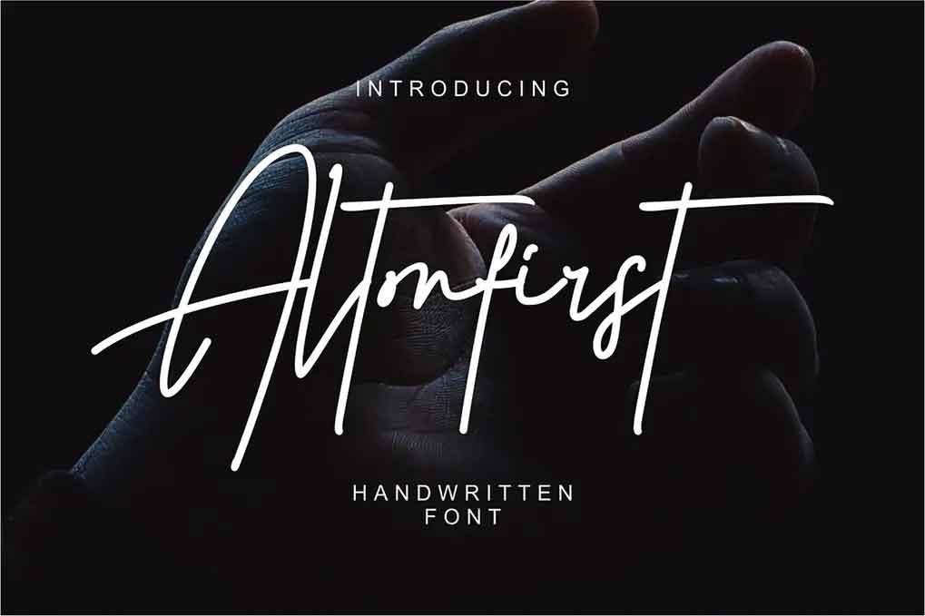 Altonfirst Font